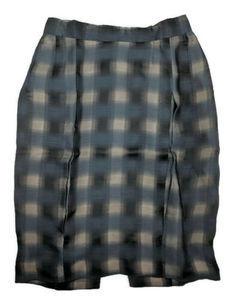 Zac Posen Runway Pencil Skirt Made in US sz 6